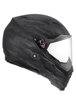 Kask AGV AX-8 NAKED CARBON/ FURY CARBON BLACK