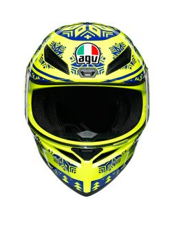 Kask integralny AGV K1 WINTER TEST 2015