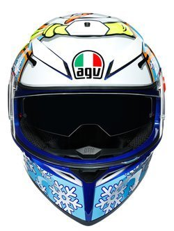 Kask integralny AGV K3 SV Rossi Winter Test 2016