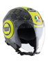 Kask AGV FLUID TOP IBISCUS